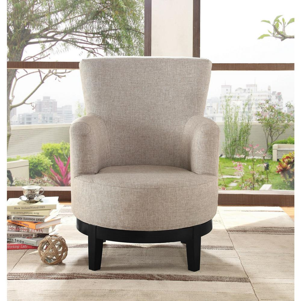 brown accent chairs 18 doll table and chair set light swivel 90019 27lb the home depot internet 302860165