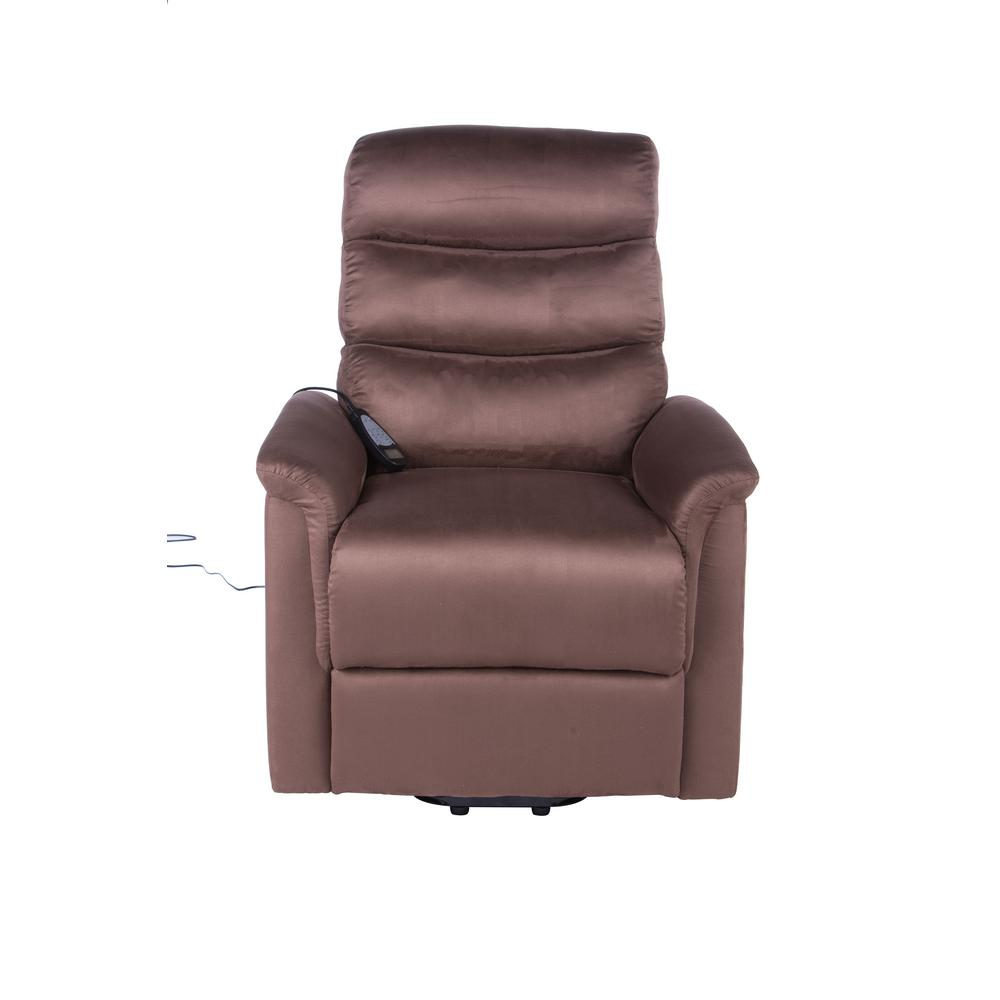 high lift chair back pillow for bed lifesmart calla casa ultra comfort fitness with heat massage and remote in brown microfiber