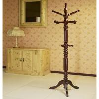Cherry Coat Rack Holder Entryway Transitional Home Decor ...