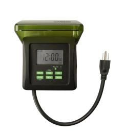 woods 15 amp 7 day outdoor plug in heavy duty dual outlet digital rh homedepot com electric timers for pool pumps irrigation pump timers [ 1000 x 1000 Pixel ]
