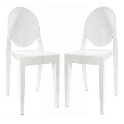 white plastic dining chairs hanging chair reading nook side kitchen room burton set of 2