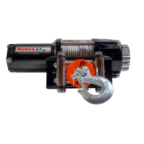 small resolution of capacity 12 volt electric winch with 46 ft steel cable