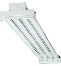 ibc 454 mv 4 light t5 white high output fluorescent high bay [ 1000 x 1000 Pixel ]
