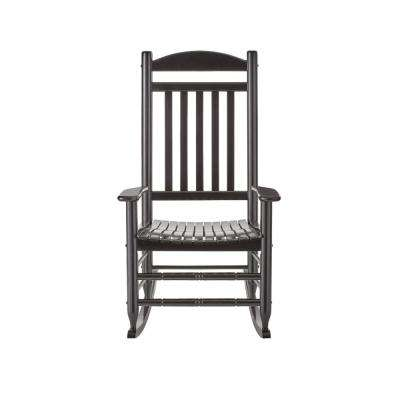 outdoor rocking chairs kitchen island patio the home depot black wood chair