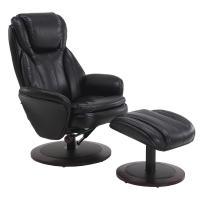 Mac Motion Comfort Chair Black Breatheable Fabric Swivel ...