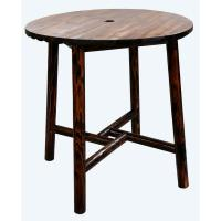 Leigh Country Char-log Patio Bar Height Dining Table-TX ...