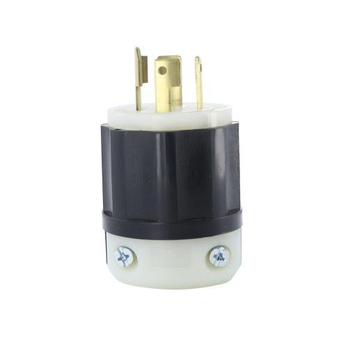 small resolution of leviton 30 amp 120 208 volt industrial grade 3 phase locking grounding plug