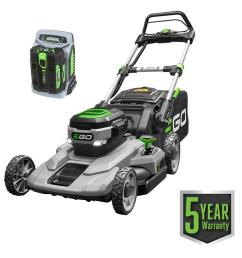 56 volt lithium ion cordless battery walk behind push mower [ 1000 x 1000 Pixel ]