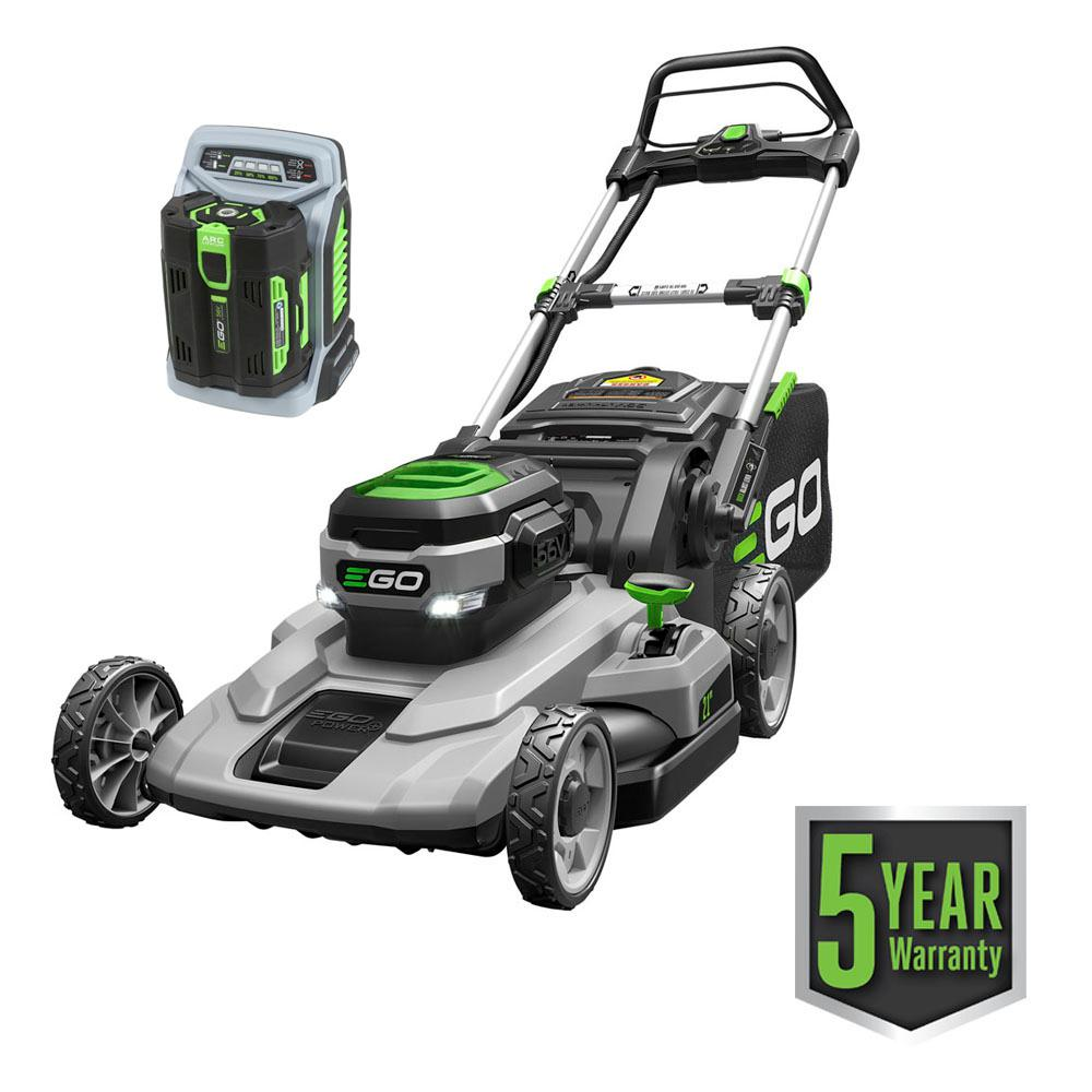 medium resolution of 56 volt lithium ion cordless battery walk behind push mower
