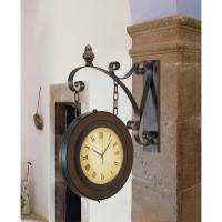 Double-Sided Suspended Wall Clock-80433 - The Home Depot