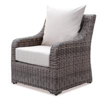Ae Outdoor Cherry Hill Wicker Lounge Chair With
