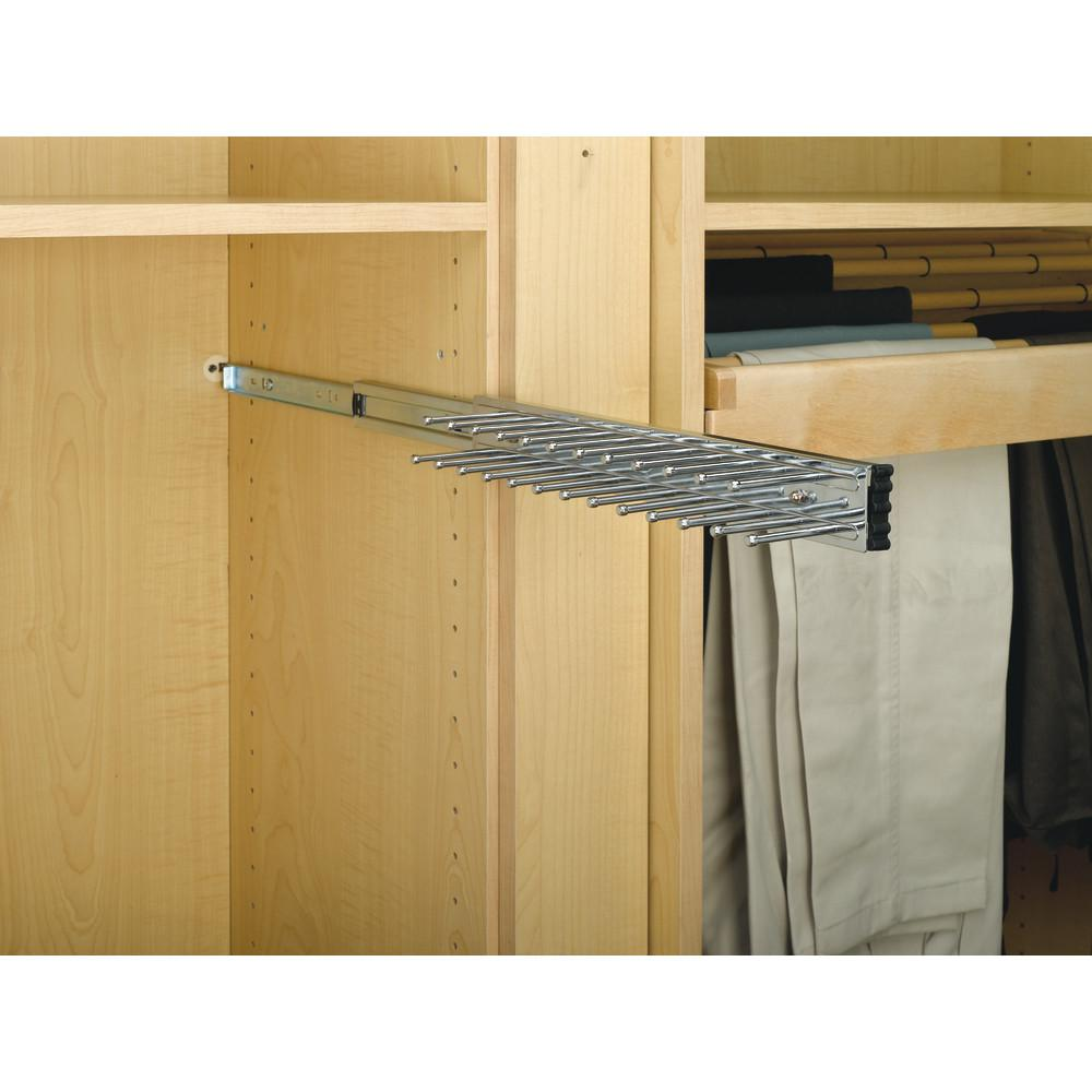 pull out belt tie rack closet organizer