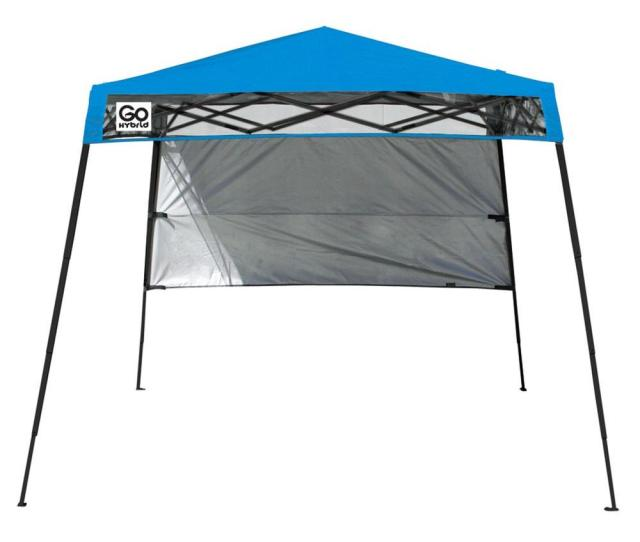 Quik Shade  Ft X  Ft Blue Go Hybrid Compact Backpack Canopy