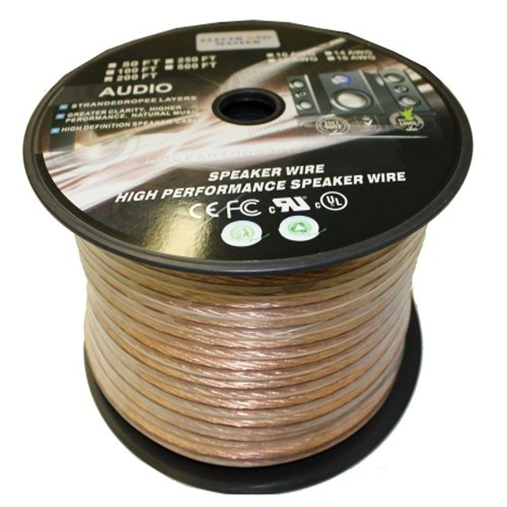 medium resolution of electronic master 200 ft 10 2 stranded speaker wire