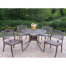 oakland living elite 5-piece patio