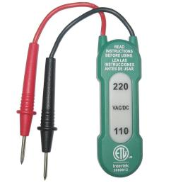 commercial electric 110 220v ac dc voltage tester [ 1000 x 1000 Pixel ]