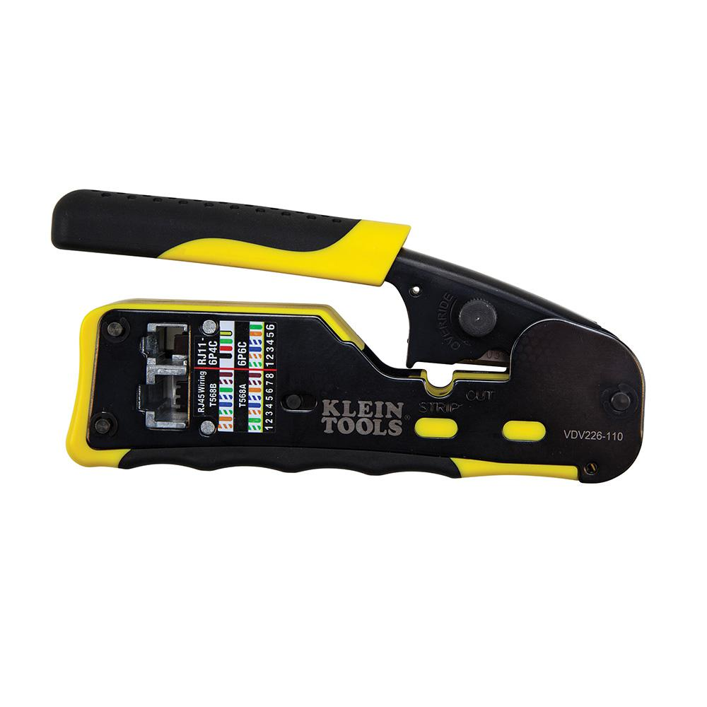 medium resolution of 6 in pass thru modular crimper