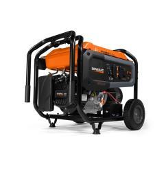 8000 watt gasoline powered portable generator [ 1000 x 1000 Pixel ]