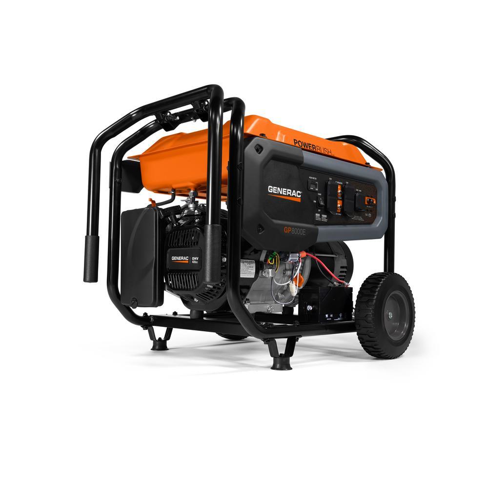 hight resolution of 8000 watt gasoline powered portable generator