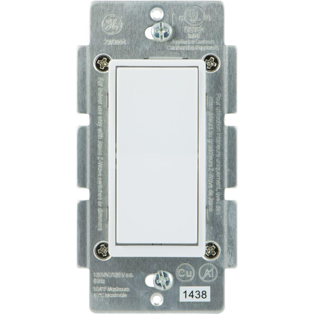 hight resolution of ge home automation 120 vac 3 way auxiliary add on switch almond wave wiring 3 way switch as well single pole double throw switch