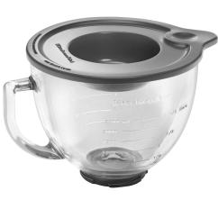 Kitchen Aid Bowls Top Of The Line Appliances Kitchenaid 5 Qt Glass Bowl For Tilt Head Stand Mixers K5gb