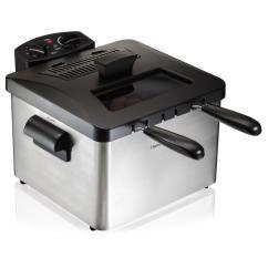 Kitchen Fryer Ninja Professional System 1500 Delonghi Dual Zone Deep D24527dz The Home Depot Style 3 Basket