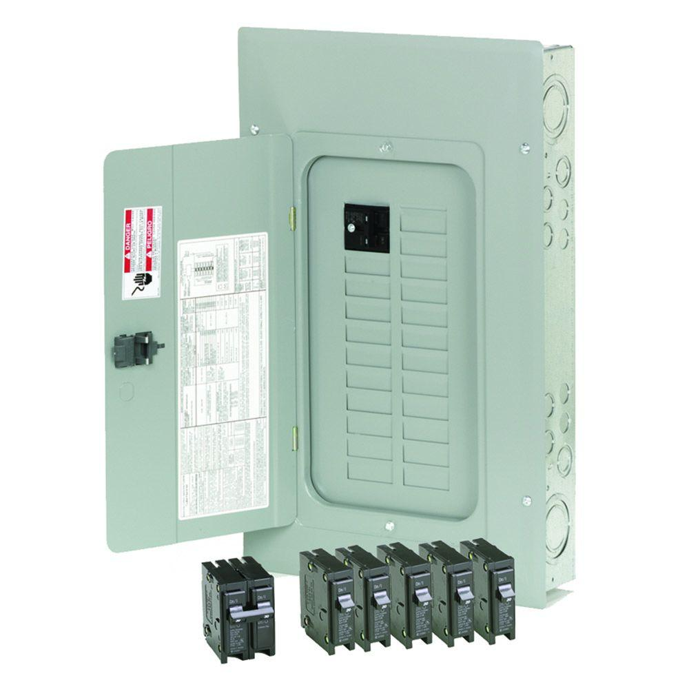 hight resolution of eaton 100 amp 20 space 20 circuit indoor main breaker loadcenter with combination cover