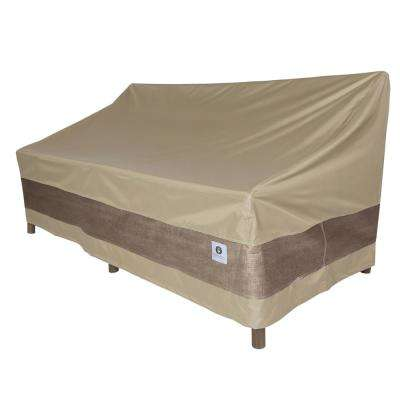 sofa waterproof cover color leather duck covers patio furniture tan