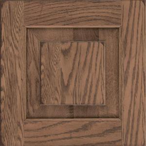 seamless kitchen flooring stand alone cabinet kraftmaid 15x15 in. door sample in dillon oak ...