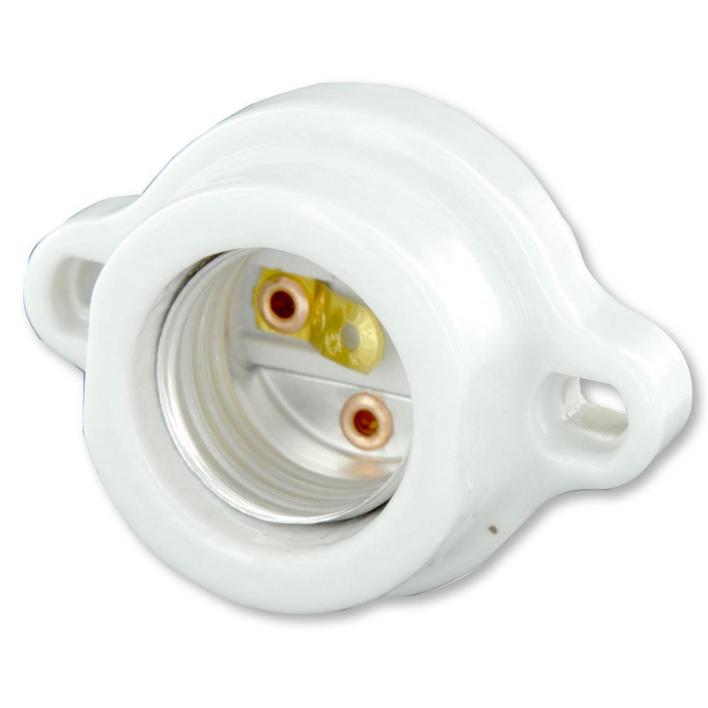 Leviton 660W Medium Base Keyless Porcelain Incandescent