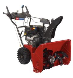 252cc two stage electric start gas snow blower [ 1000 x 1000 Pixel ]