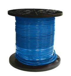 8 blue stranded cu simpull thhn wire [ 1000 x 1000 Pixel ]