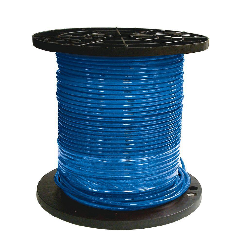 medium resolution of 8 blue stranded cu simpull thhn wire