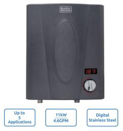 11 kw self modulating 2 35 gpm electric tankless water heater point of [ 1000 x 1000 Pixel ]