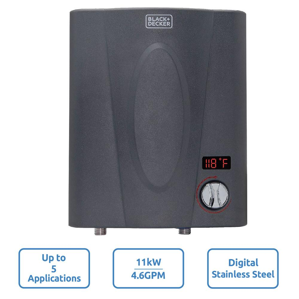 medium resolution of 11 kw self modulating 2 35 gpm electric tankless water heater point of