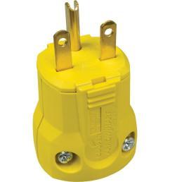 15 amp 250 volt 6 15 quickgrip plug [ 1000 x 1000 Pixel ]