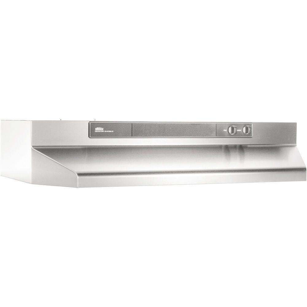 broan range hood wiring diagram honeywell power humidifier 46000 series 24 in. convertible in stainless steel-462404 - the home depot