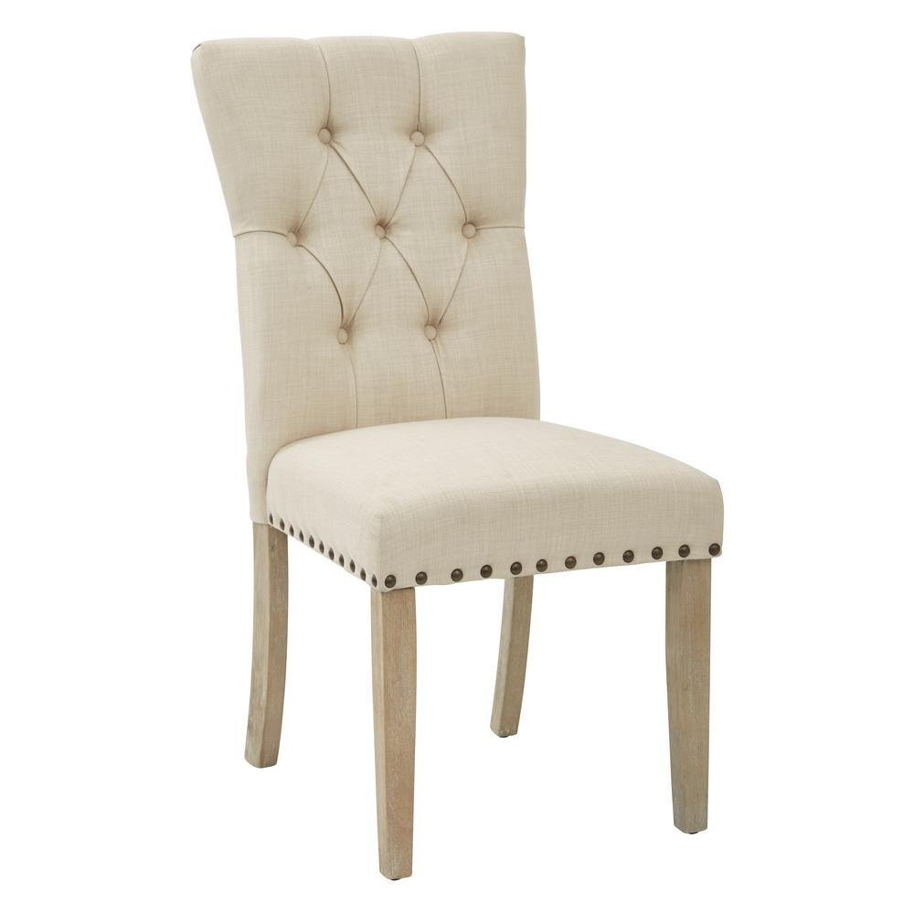 Inspired by Bassett Preston Dining Chair in Marlow Burlap