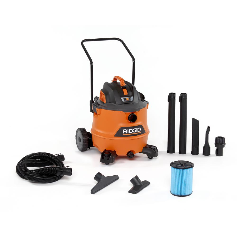 hight resolution of 6 5 peak hp nxt wet dry shop vacuum with fine dust