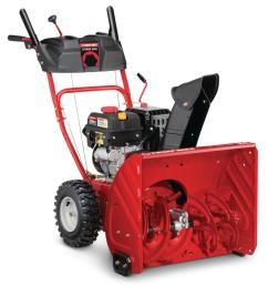 208 cc two stage gas snow blower with electric [ 1000 x 1000 Pixel ]