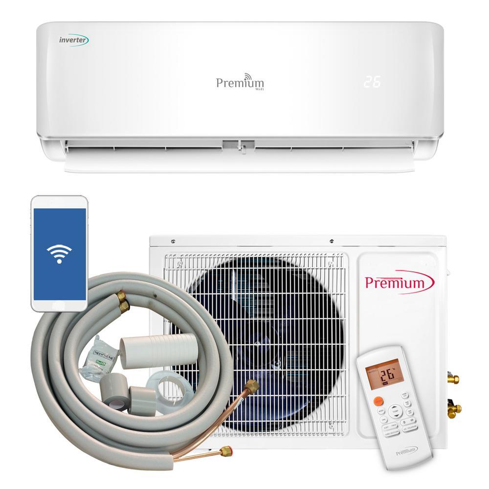 medium resolution of 12 000 btu 1 ton ductless mini split air conditioner 110v 60hz