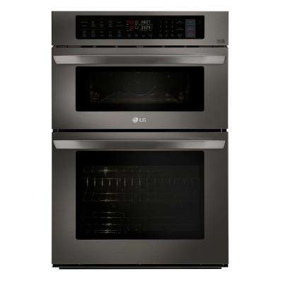 24 inch wall oven microwave combo