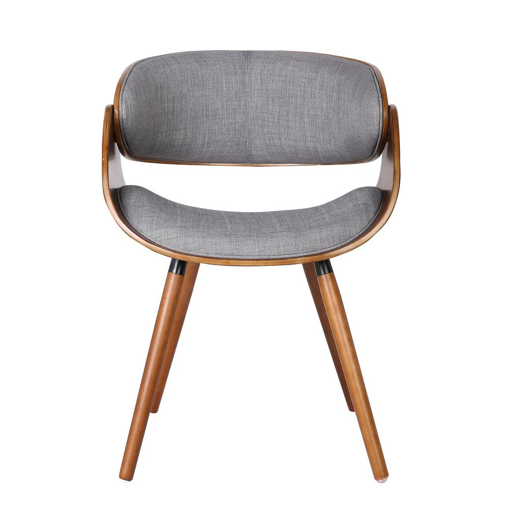 modern gray dining chairs patio furniture chair leg protectors wrap around back c 063 the home depot