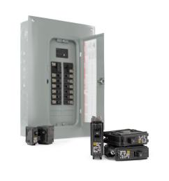 square d 100 amp 40 circuit 20 space indoor main breaker box panel load center 689781012466 ebay [ 1000 x 1000 Pixel ]