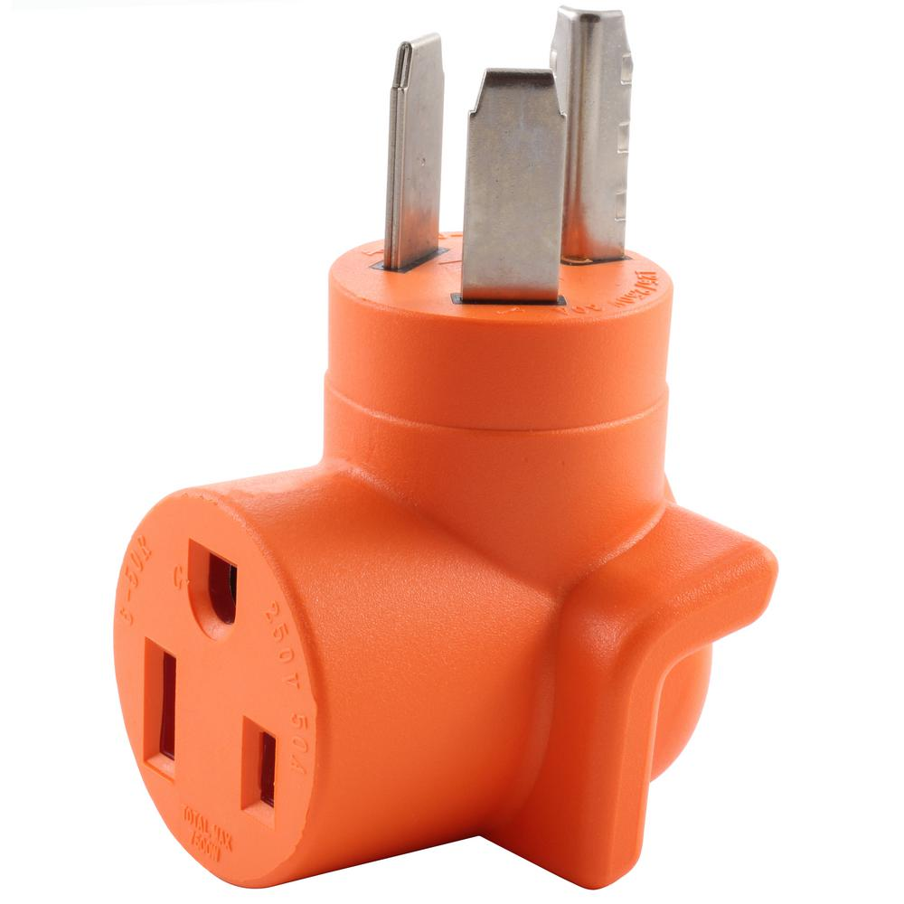 hight resolution of ac works ac connectors nema 10 30 3 prong dryer plug to 6 4