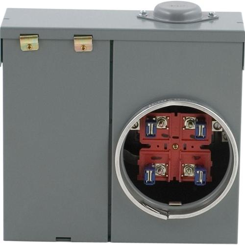 small resolution of square d 100 amp ring type overhead or underground meter socket