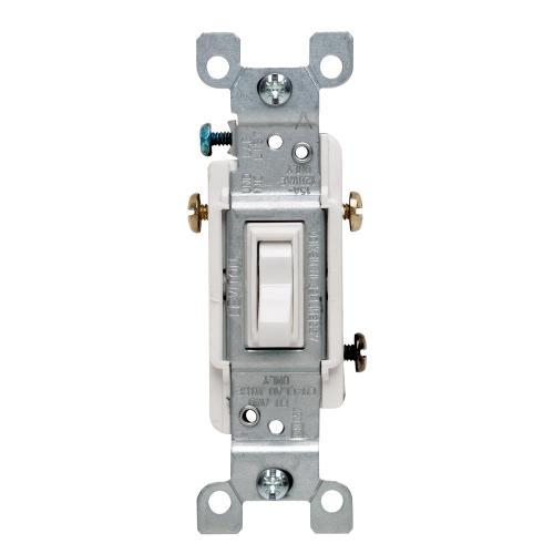 small resolution of leviton 15 amp 3 way toggle switch white