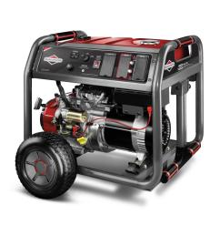 8 000 watt gasoline powered key electric start portable generator with 2100 [ 1000 x 1000 Pixel ]