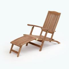 Folding Outdoor Lounge Chair Deck Table And Sets Transcontinential Group Bali Brown Teak 1