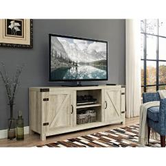 Tv Stand Living Room Dining And Ideas Stands Furniture The Home Depot Barn Door With Side Doors White Oak